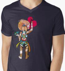 Art Chick Mens V-Neck T-Shirt