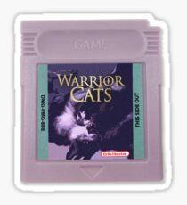 Warrior Cats : Game Boy Edition Sticker Sticker
