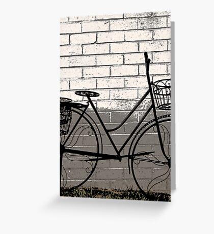 The bike . . . Greeting Card
