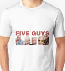 FIVE GUYS: DINERS AND DIVES T-Shirt