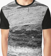 Hills on Ilford 120 film Graphic T-Shirt