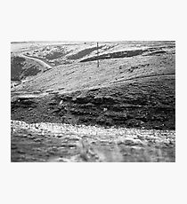 Hills on Ilford 120 film Photographic Print