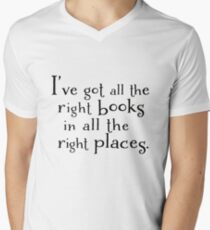 I've got all the right books in all the right places.  T-Shirt