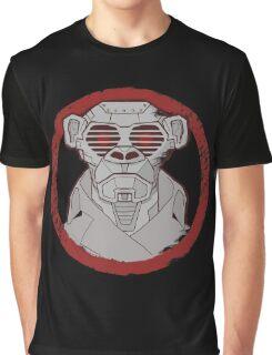 Robot Monkey Graphic T-Shirt