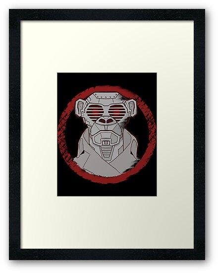 Robot Monkey by niatand