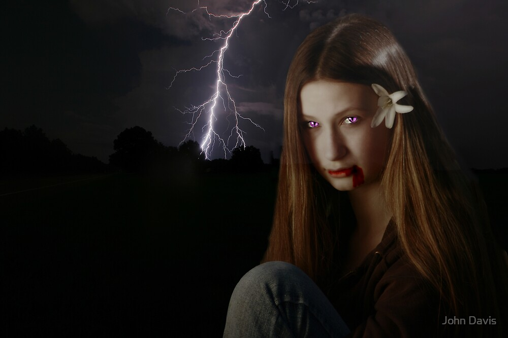 DARKNESS BECOMES HER by John Davis