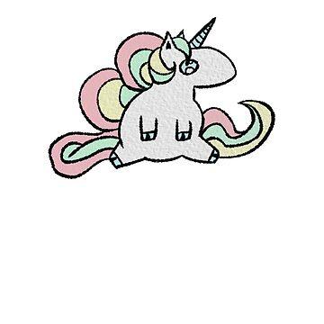 Super Cute Unicorn by ZachyMassacre