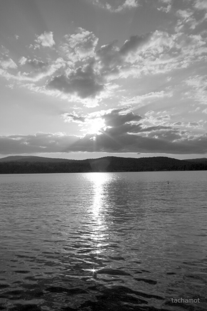 Schroon Lake by tachamot
