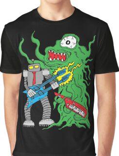 Robot Monster Power Jam Graphic T-Shirt