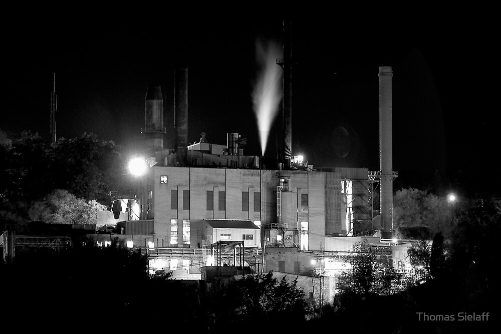 Factory B&W by Thomas Sielaff