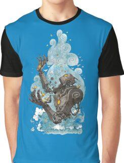 Robot Nature Graphic T-Shirt