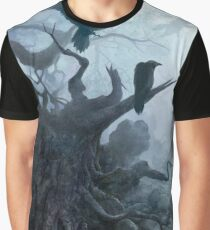 Crows on the dead tree Graphic T-Shirt