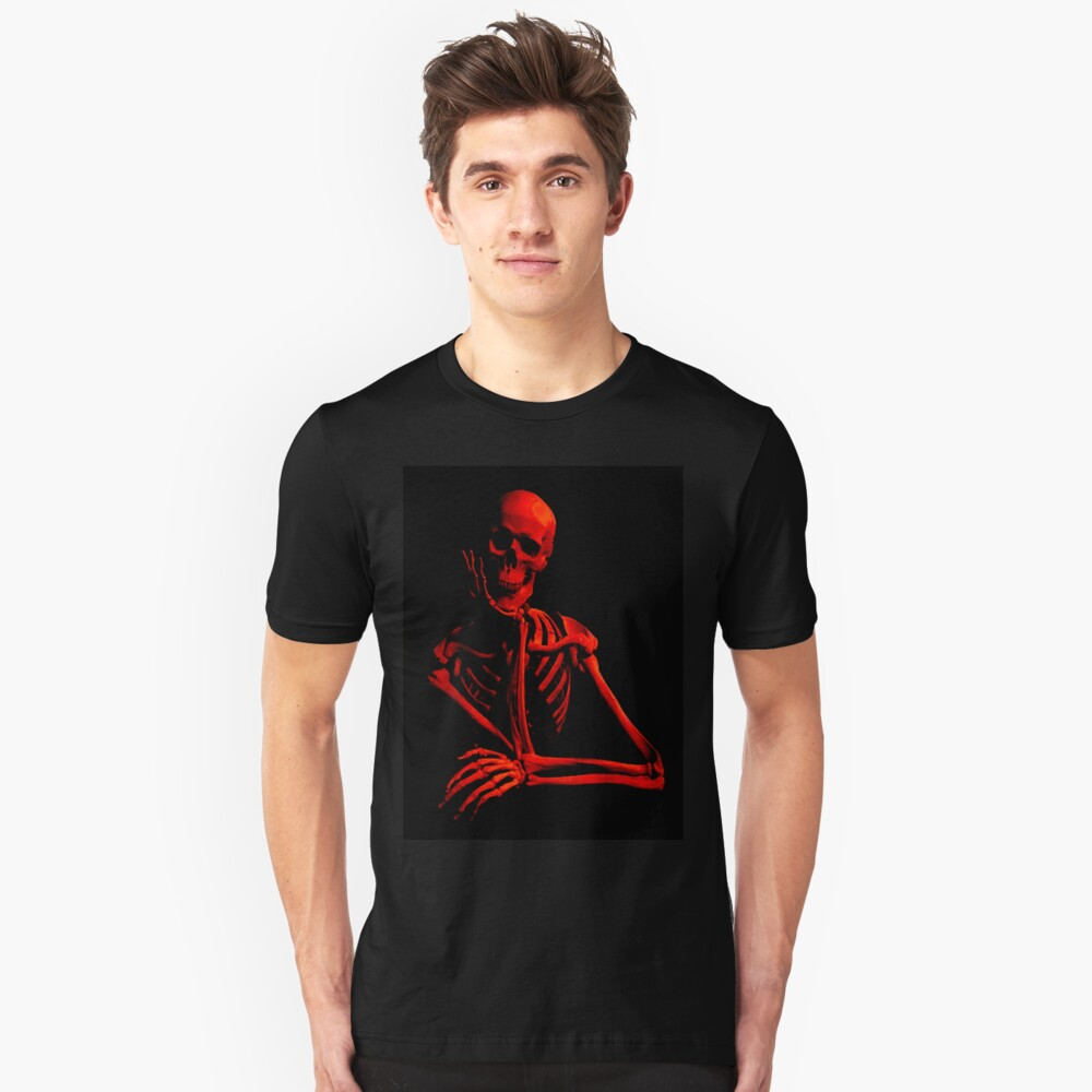Skeleton Unisex T-Shirt Front