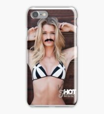 Movember Mustache Wood by Hot Fuzz iPhone Case/Skin