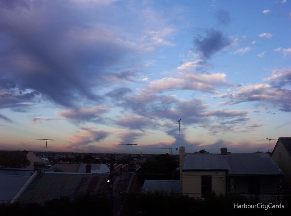 Last blue sky by HarbourCityCards