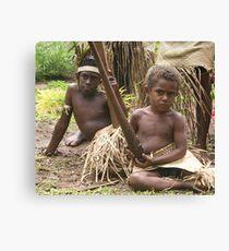 Vanuatu's Children Canvas Print