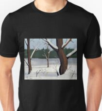 A Winter Scene Unisex T-Shirt
