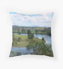 Manning River Taree N.S.W. Australia. Throw Pillow