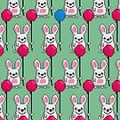 Pixel Rabbits by pencilfury