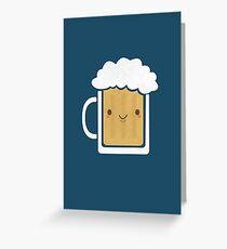 Cool Beer  Greeting Card