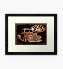 RAT Rust Truck Framed Print