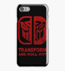 Autobots Switch iPhone Case/Skin
