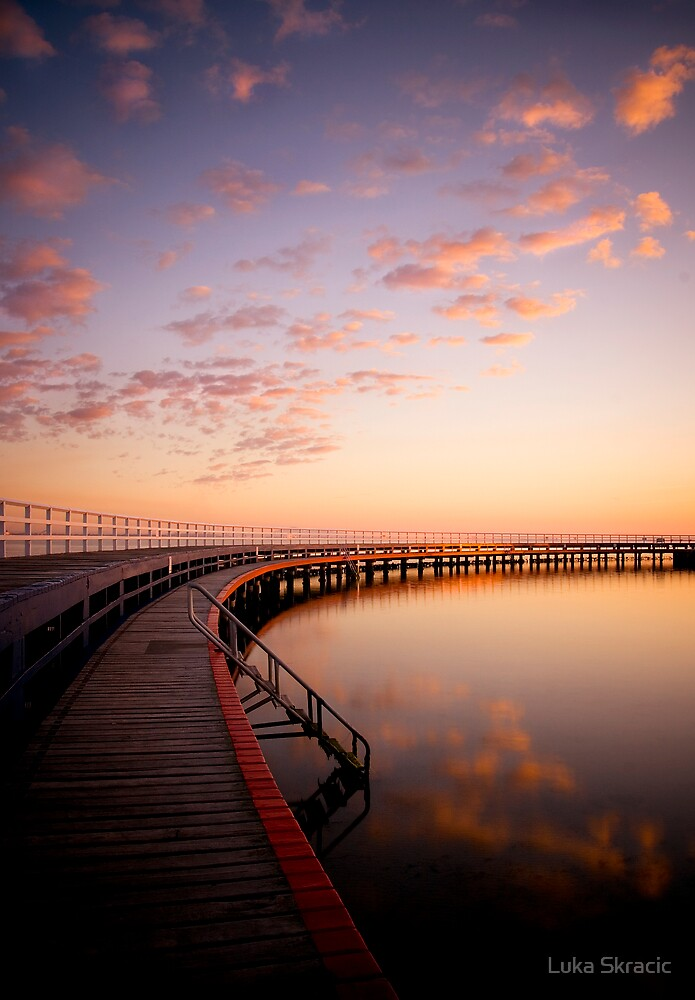Sunrise by the Boardwalk by Luka Skracic