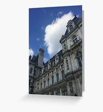 Parisian Stone Greeting Card