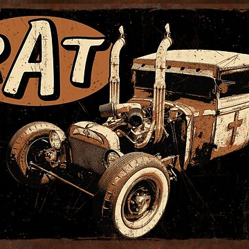 Rat Rod - Pipes by hotrodz