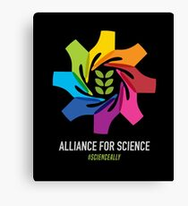 Alliance for Science Canvas Print