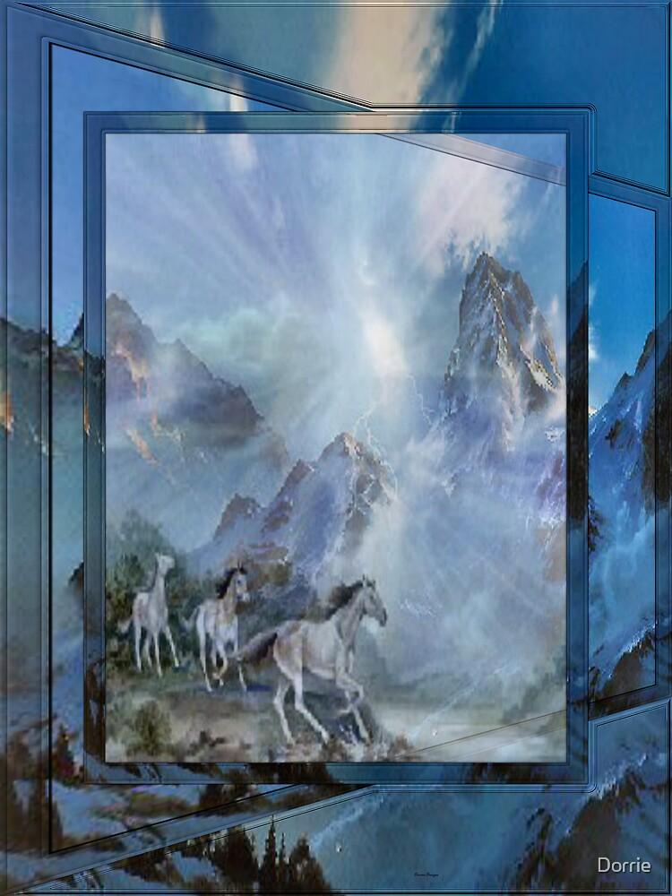 Mountian Horses by Dorrie