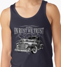 In Rust We Trust - Truck Tank Top