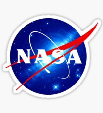 Nasa Meatball Logo - Hubble Space Edition Sticker
