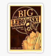 big lebowski Sticker
