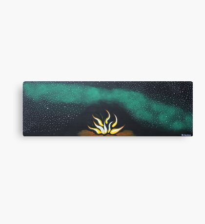 THE MILKY WAY (OUTBACK AUSTRALIA) Canvas Print