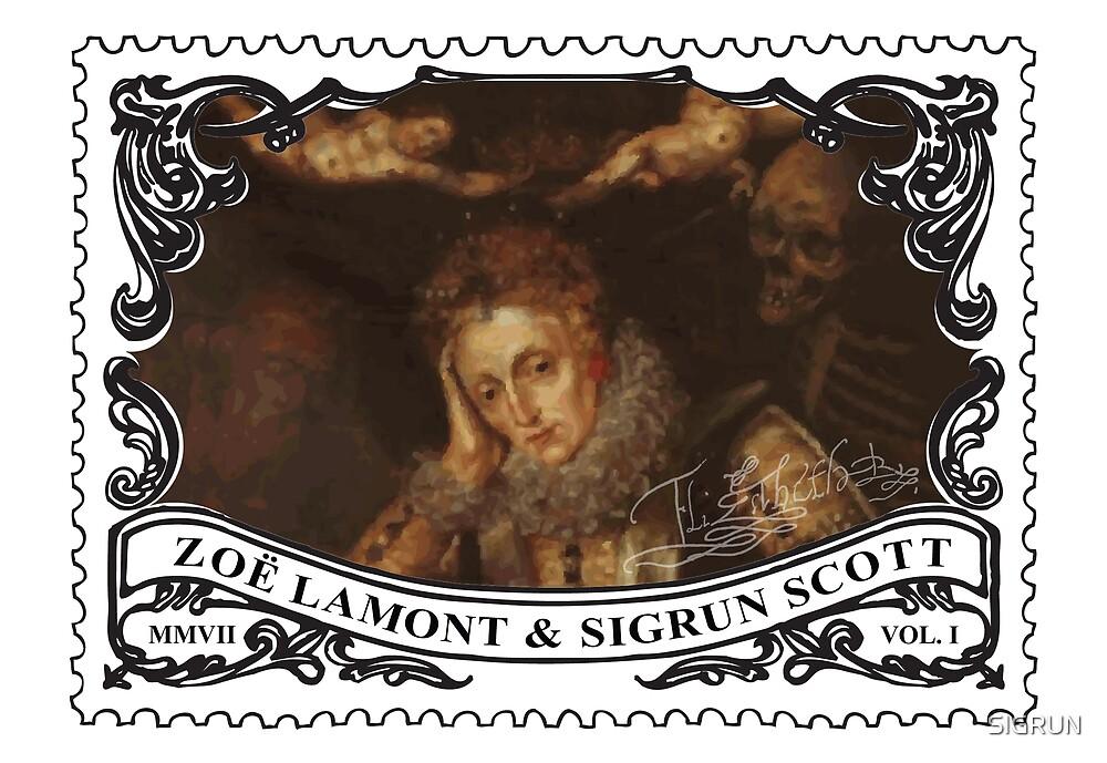 Stamp Design  by SIGRUN