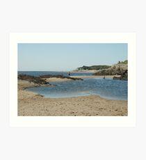 Beachscape Art Print