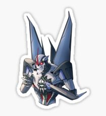 Angry TFP Star Sticker