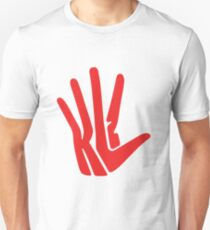 Unofficial Hand Logo - Red Unisex T-Shirt