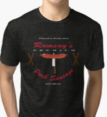 """""""Ramsay's Pork Sausage"""" - Game of Thrones Ramsay Bolton Inspired Tri-blend T-Shirt"""