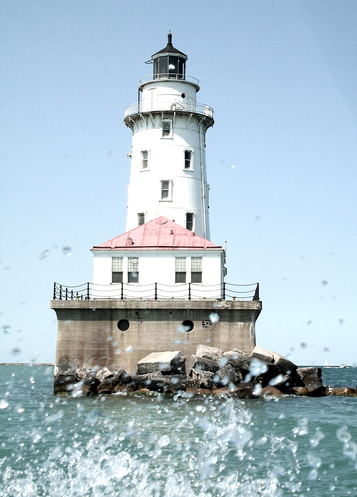 chicago's lil lighthouse by Naddl