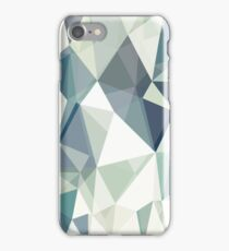 Polygonal dimonds iPhone Case/Skin