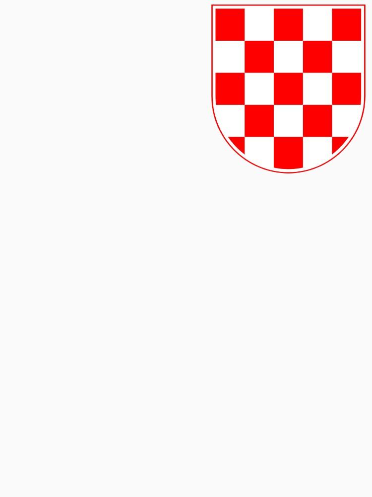 Croatian Checkerboard, Croatia, Coat of Arms by 411drpkv4c