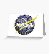 NASA Starry Night Greeting Card