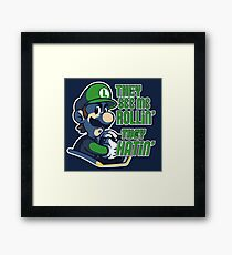 Luigi MK8 - Ridin' Dirty Framed Print