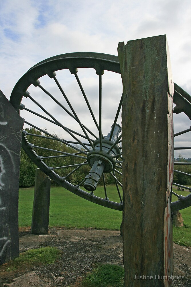 Mining Wheel by Justine Humphries