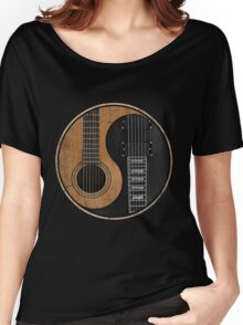 Yin Yang Guitar Women's Relaxed Fit T-Shirt