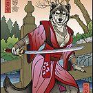 Wolf Geisha by Wm. Randal Painter