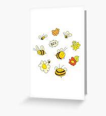 Bee Happy! Greeting Card