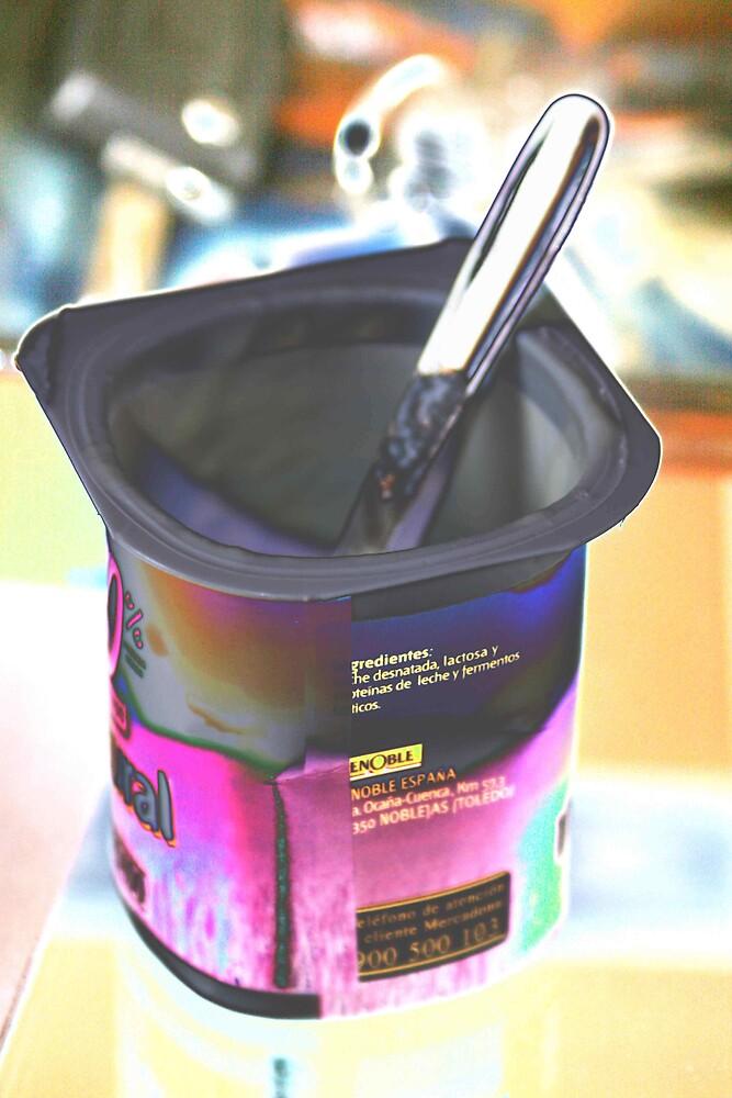 Empty yogurt by x07wave